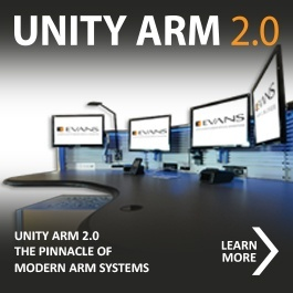 Multi-dimensional Monitor Mounting System for your Consoles