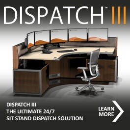 Dispatch lll Consoles for 911 Communication Centers
