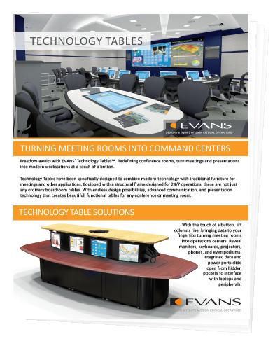 Technology Tables Brochure